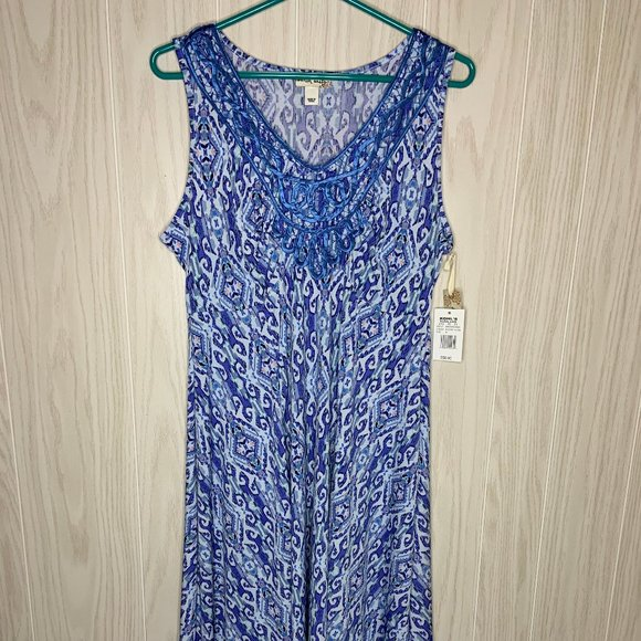 World Unity Dresses & Skirts - NWT World Unity High Low Dress Blue Womens Size M